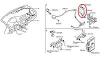 Nissan Leaf Блок управління телекомунікацією