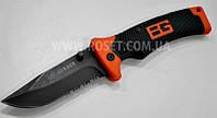 Нож выживальщика - Bear Grylls Scout Knife Gerber с чехлом