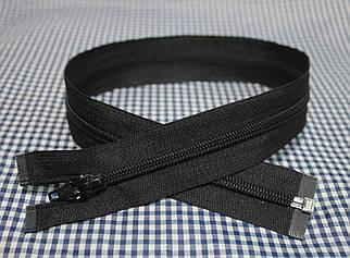 Молния (змейка) черная разъемная (спиральная, тип-5, 50см)