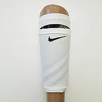 Чулки держатели футбольные NIKE для щитков (белые)