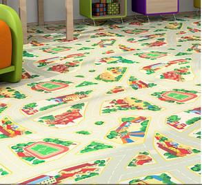 Детский линолеум Graboplast Terrana 01 / ECO  Kids 4171-254, фото 2