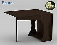Стол книжка - 4 New Габариты Ш - 760 мм; В - 736 мм; Г - 332 мм (Общая Ш - 1700 мм) (Компанит)