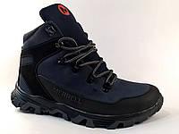 c3478dedc380 Мужские ботинки Merrell M1 синие, зимние, натуральная кожа, натуральная  шерсть 41