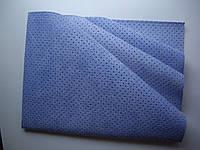 Замша синяя для протирки насухо после мойки 54x40, фото 1