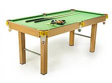 Бильярдный стол американка 5,5 ft, бильярд (164 x 84 x 74,5 см), мини бильярд, фото 2