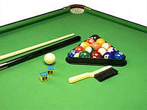 Бильярдный стол американка 5,5 ft, бильярд (164 x 84 x 74,5 см), мини бильярд, фото 3