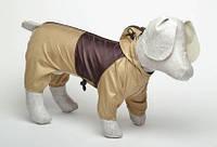 Дождевик для собаки с капюшоном для разных пород 29*46