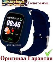 Q100 (q90s) Детcкие умные смарт часы-телефон Smart Baby Watch с GPS dark blue