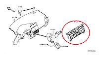Nissan Leaf Контроллер управління кондиціонером