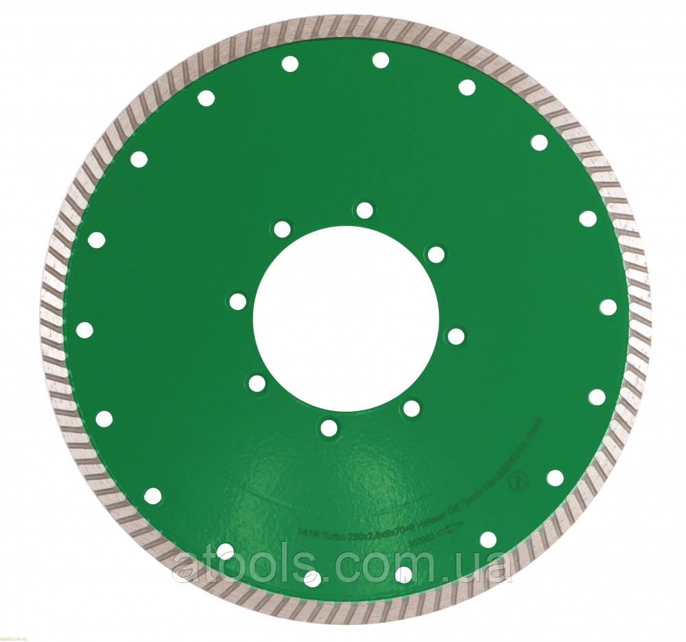 Алмазный отрезной диск Distar Turbo Elite Active 230x2.6x9x70+8 (10238025017)
