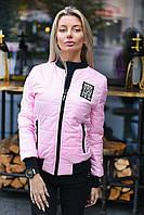 Женская демисезонная куртка на силиконе, фото 1