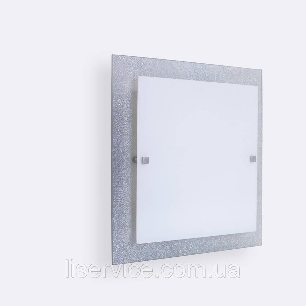 31140 Міраж НББ 2х60 Вт, Е27, 300мм срібло