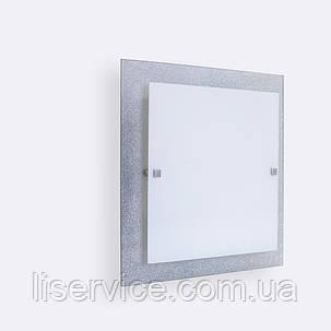 31140 Міраж НББ 2х60 Вт, Е27, 300мм срібло, фото 2
