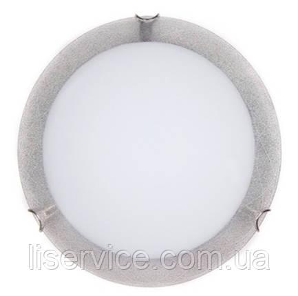 24140 Міраж НББ 2х60 Вт,Е27 d=300, сріб., фото 2