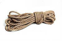 Набор Веревка для Шибари  6шт 6мм натуральная + Мешок
