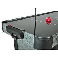 Аэрохоккей Master 5 c электронным LED счетчиком и глянцевым игровым полем - 156 x 78 x 80см, фото 2