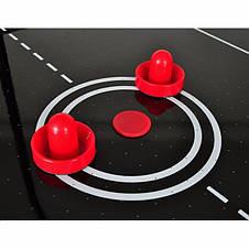 Аэрохоккей Master 5 c электронным LED счетчиком и глянцевым игровым полем - 156 x 78 x 80см, фото 3