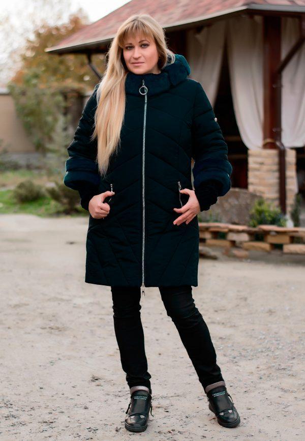 d48e40511e6 Зимнее женское пальто NEWAGE мурена ТМ Vicco 46-52 размеры -  Интернет-магазин одежды