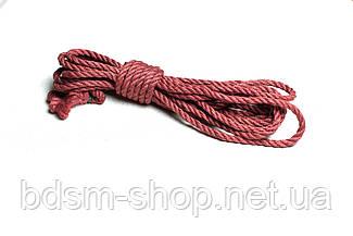 Веревка для Шибари 8мм Рубин