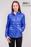 Женская демисезонная куртка Avecs 70040 Blue c наполнителем осень / весна недорого | куртка Avecs размер