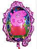 Фольгований повітряна кулька - дзеркало мультик 80 х 54 см