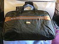 Дорожная большая чёрная сумка