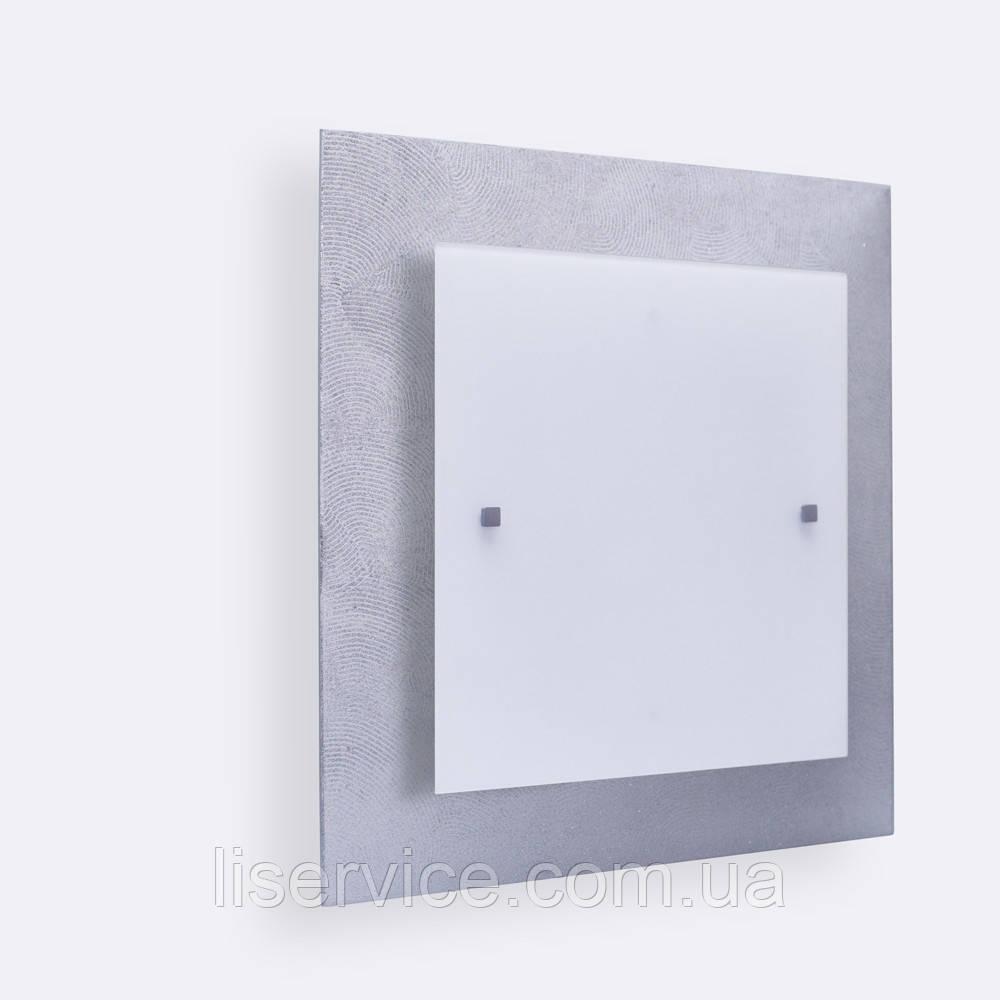 40140 Міраж НББ 2х60 Вт, Е27, 400мм серебро