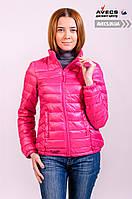 Женская демисезонная куртка Avecs 70040 Pink c наполнителем осень / весна недорого | куртка Avecs размер