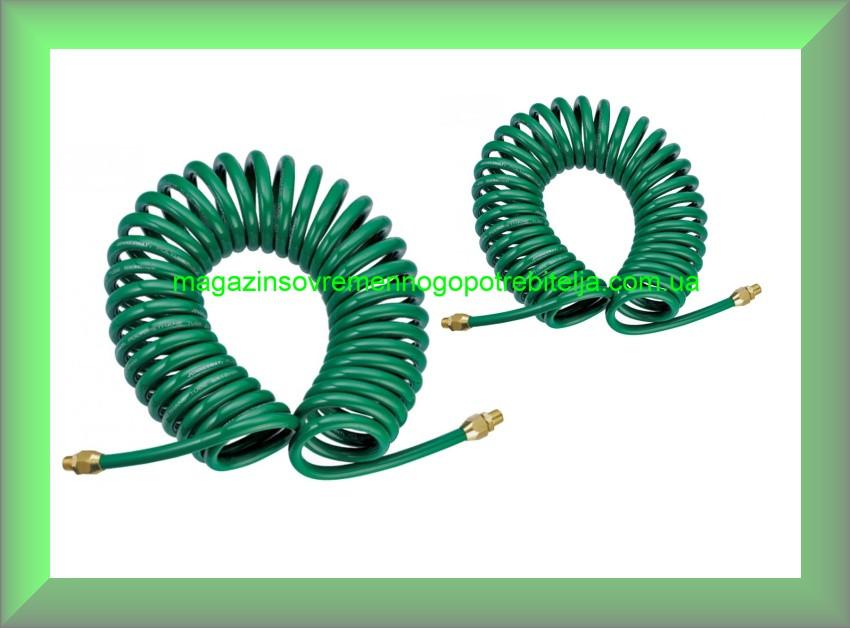 Шланг спиральный для пневмоинструмента 6,5х10мм, 15м, Jonnesway JAZ-7214W