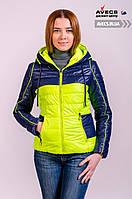 Куртка женская демисезонная Avecs 669 весна / осень наполнитель полиэстер недорого | куртка Avecs размер
