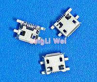 Samsung micro USB гнездо разъём 7pin
