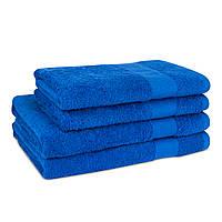 Рушник махровий 400г/м2 синій 50х90см