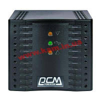 Стабилизатор напряжения Powercom TCA-3K0A-6GG-2261 (TCA-3000 black)