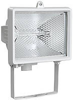 Прожектор галогенний ІЕК ИО500 білий / чорний (LPI01-1-0500-K01)