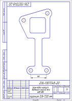 236-1307048-20  Прокладка корпуса водяного  насоса (ЕВРО) ЯМЗ