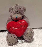 Мягкая игрушка Мишка teddy с сердцем,8