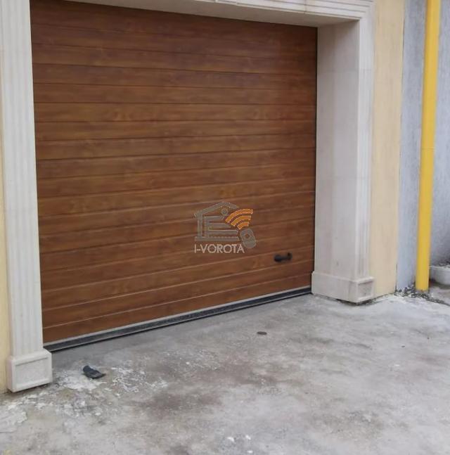 гаражные ворота готовые комплекты
