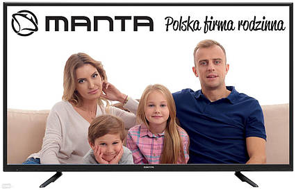 Телевизор Manta LED55LUA38M (60 Гц, UltraHD 4K, Smart TV, Android 6.0, Dolby Digital Plus 2x8Вт, DVB-C/T2/S2), фото 2
