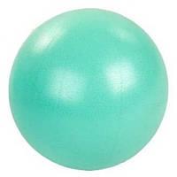 Мяч для пилатеса и йоги Pilates ball Mini  Pastel (PVC, латекс, d-20см, 120гр, мятный)