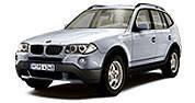 Накладки на пороги для BMW X3 (E83)