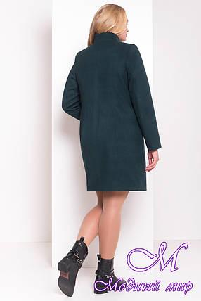 """Женское теплое кашемировое пальто большого размера (р. XL, XXL) арт. Фортуна донна """"3695"""" - 19229, фото 2"""