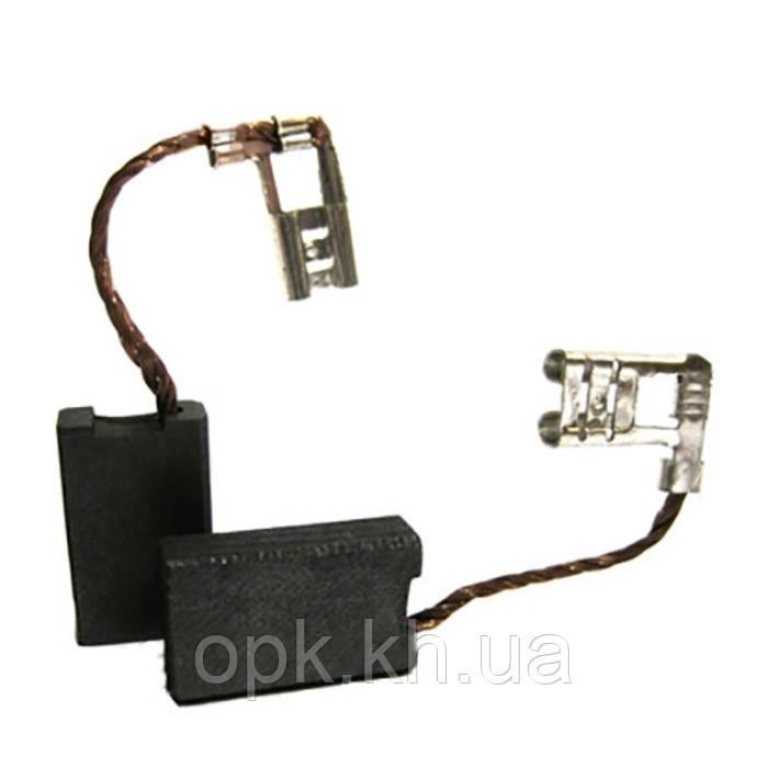 Щетки угольно-графитовые тст-н 6*12,5 мм (контакт - клемма «мама», длина провода - 40 мм, комплект - 2 шт)