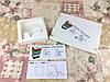 Коробка Молочная Новый год для пряников, печенья 150*150*30 (с окошком)