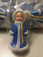 Новогодняя игрушка Снегурочка 13см