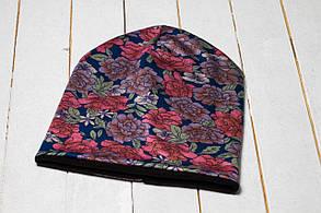 Трикотажная шапка «Цветовая гамма»