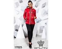 Ledi M Женская зимняя куртка BL 17025 красный Леди М