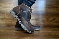 Ботинки мужские в стиле Timberland натуральная кожа Carlo Pachini