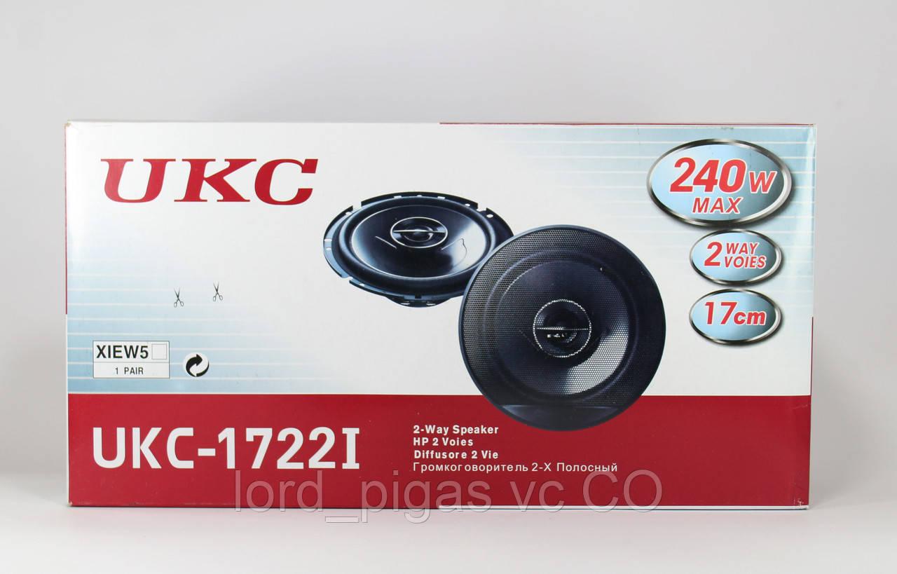 Колонки автомобильные TS-1672