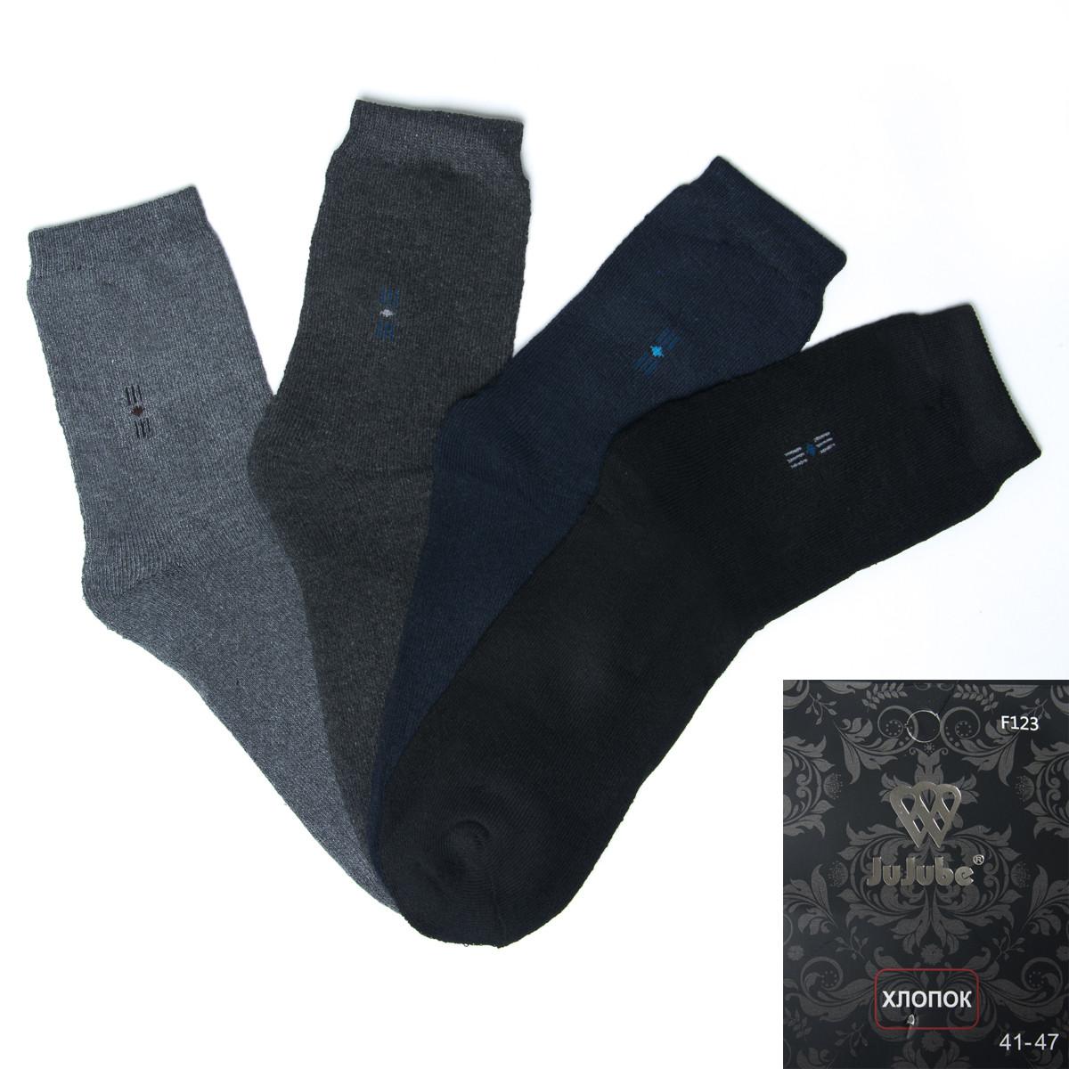 Носки мужские махровые с узором Jujube F123-7