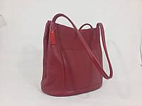 """Женская кожаная сумка """"Софи Red"""""""
